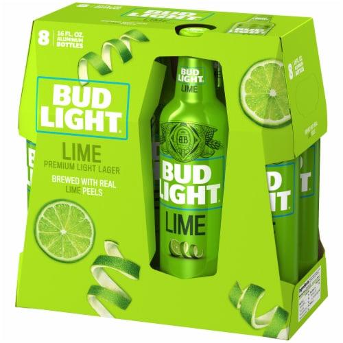Bud Light Lime Premium Light Lager Perspective: right