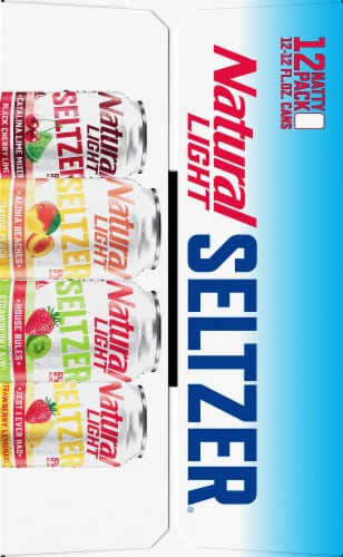 Natural Light Seltzer Variety Pack Perspective: right