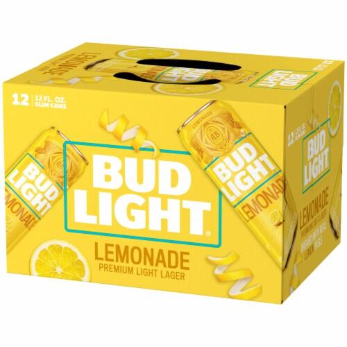 Bud Light Lemonade Lager Perspective: right