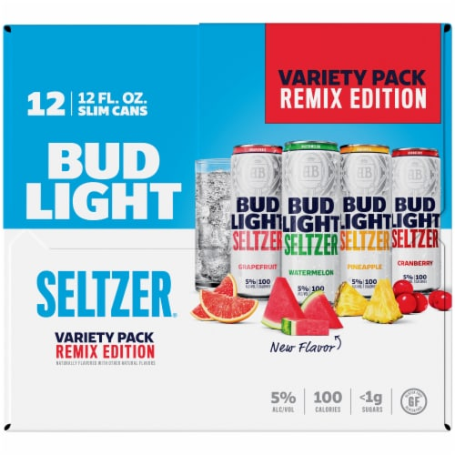 Bud Light Remix Edition Seltzer Variety Pack Perspective: right