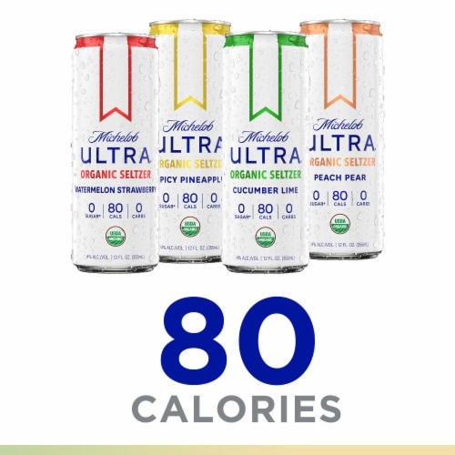 Michelob Ultra Organic Seltzer Variety Pack Perspective: right
