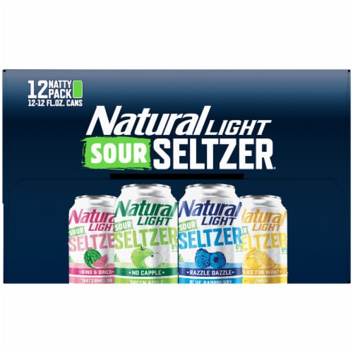 Natural Light Sour Seltzer® Variety Pack Perspective: right