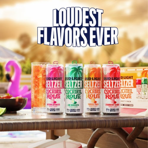 Bud Light Seltzer Ugly Sweater Pack Perspective: right