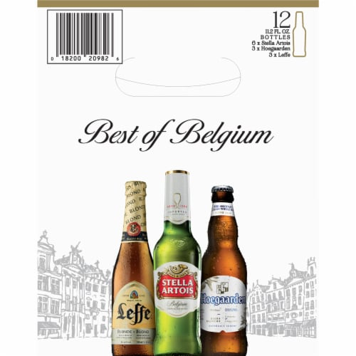 Best of Belgium Beer Variety Pack Perspective: right