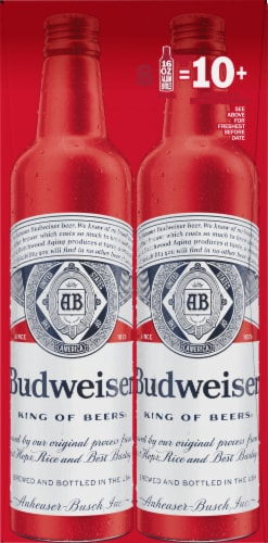 Budweiser Lager Beer Perspective: right