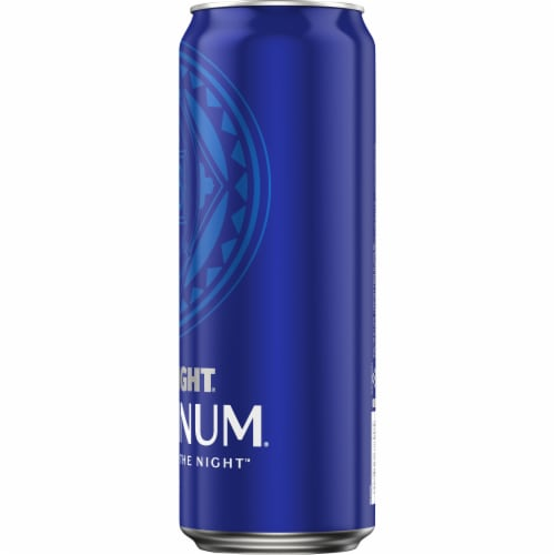 Bud Light Platinum Lager Beer Perspective: right