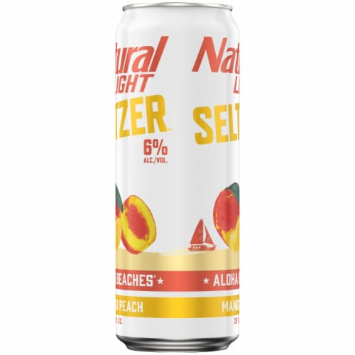 Natural Light Aloha Beaches Spiked Seltzer Perspective: right
