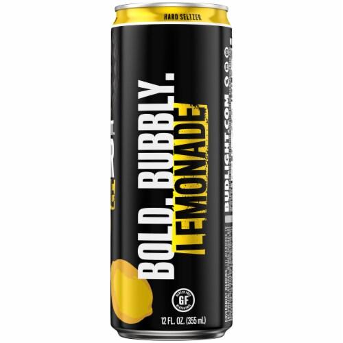 Bud Light Original Seltzer Lemonade Perspective: right