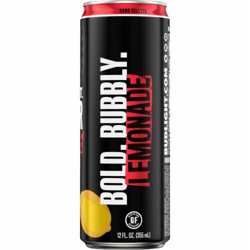 Bud Light Strawberry Lemonade Hard Seltzer Perspective: right