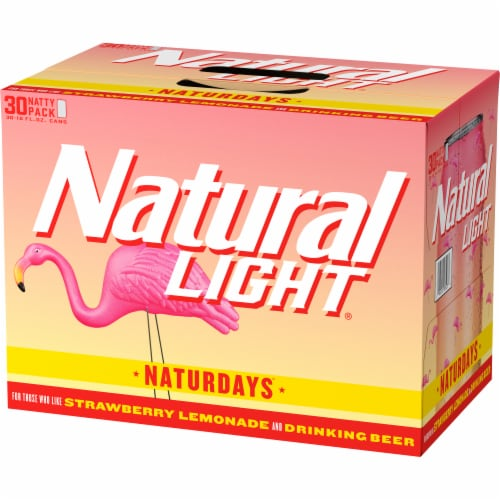 Natural Light Naturdays Beer Perspective: right
