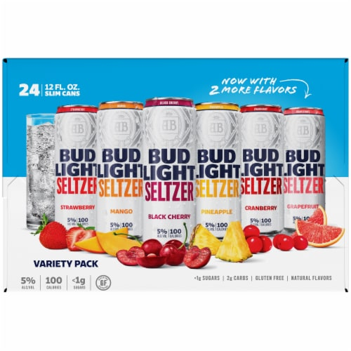 Bud Light Variety Seltzer Pack Perspective: right