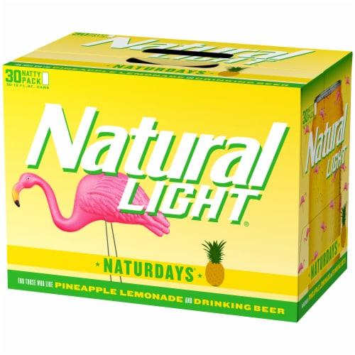 Natural Light Naturdays Pineapple Lemonade Beer Perspective: right