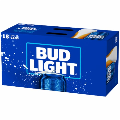 Bud Light Beer 18 Pack Perspective: right