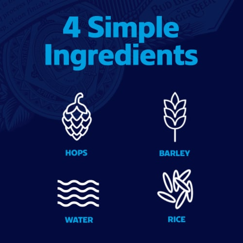 Bud Light® Lager Beer Perspective: right
