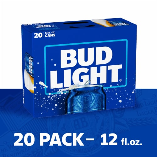 Bud Light Beer Perspective: right
