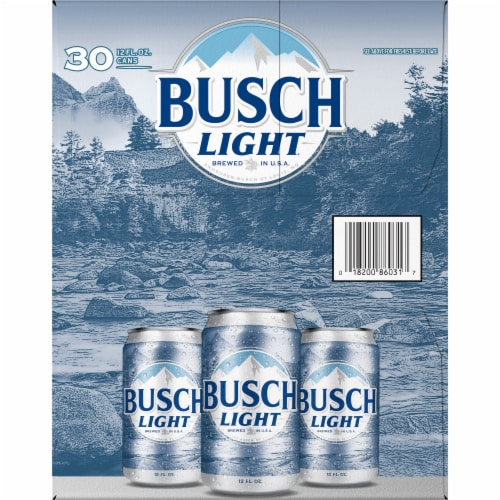 Busch® Light Lager Beer Perspective: right