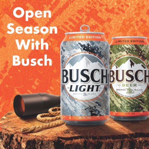 Busch Light Beer Perspective: right