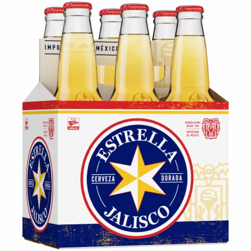 Estrella Jalisco Imported Beer Perspective: right