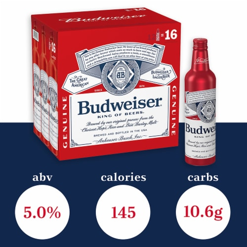 Budweiser Beer Perspective: right