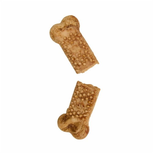 Nylabone Edibles Natural Nubz Wild Bison Flavor Dog Chews Perspective: right