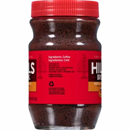 Hills Bros. Medium Roast Instant Coffee Perspective: right