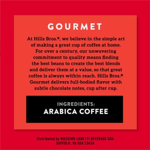 Hills Bros.® Gourmet Medium Roast Coffee Single Serve Cups Perspective: right