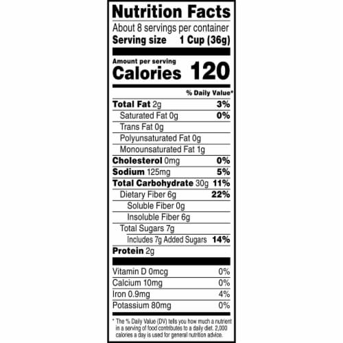 Kashi Cinnamon French Toast Puffed Cereal Perspective: right