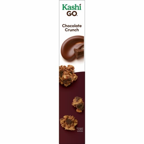 Kashi GO Vegan Breakfast Cereal Chocolate Crunch Perspective: right