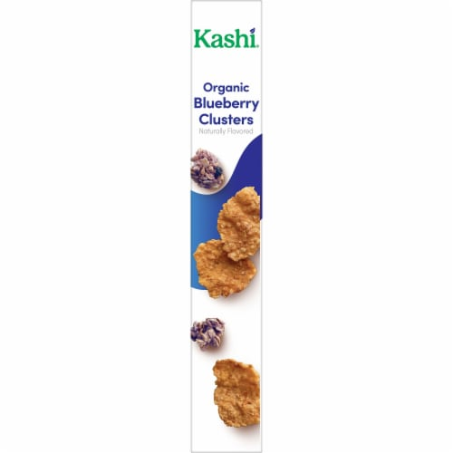 Kashi Organic Breakfast Cereal Blueberry Clusters Perspective: right