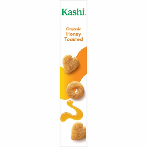 Kashi Organic Breakfast Cereal Honey Toasted Oat Perspective: right