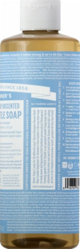 Dr. Bronner's 18-in-1 Hemp Baby Unscented Pure-Castile Liquid Soap Perspective: right