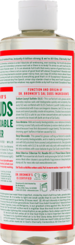 Dr. Bronner's Sal Suds Biodegradable Cleaner Perspective: right