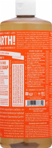 Dr. Bronner's 18-in-1 Hemp Tea Tree Pure-Castile Liquid Soap Perspective: right