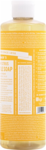 Dr. Bronner's Citrus Pure-Castile Soap Perspective: right