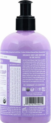 Dr. Bronner's 4-in-1 Lavender Organic Sugar Soap Perspective: right
