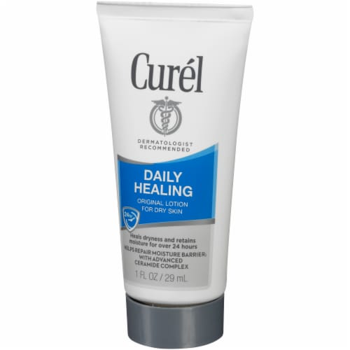 Curel Daily Healing Original Lotion for Dry Skin Perspective: right