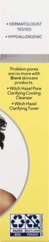 Biore Witch Hazel Ultra Deep Cleansing Pore Strips Perspective: right