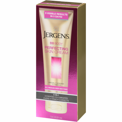 Jergens BB Body Perfecting Skin Cream 5-in-1 for All Medium-Deep Skin Tones Perspective: right