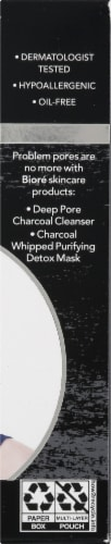 Biore Deep Cleansing Charcoal Pore Strips Perspective: right
