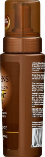 Jergens Natural Glow Deep Bronze Instant Sun Moisturizing Mousse Perspective: right