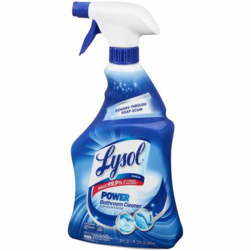 Lysol Power Bathroom Cleaner Perspective: right