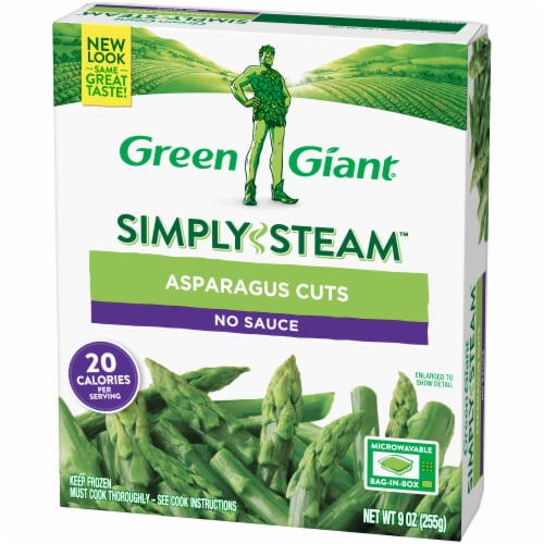 Green Giant Steamers Asparagus Cuts Perspective: right