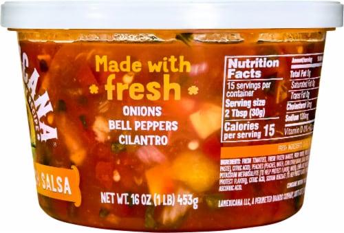 La Mexicana Peach Mango Salsa Perspective: right