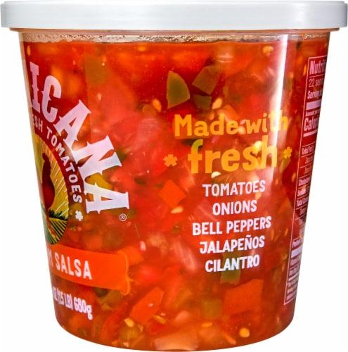 La Mexicana Medium Salsa Perspective: right