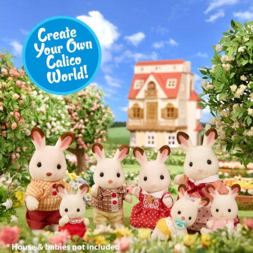 Calico Critters Hopscotch Rabbit Family Perspective: right