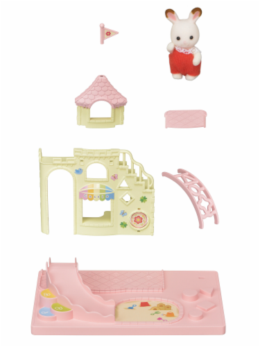 Calico Critters Baby Castle Playground Play Set Perspective: right