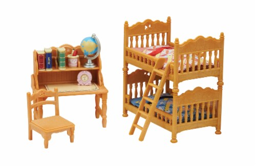 Calico Critters Children's Bedroom Set Perspective: right