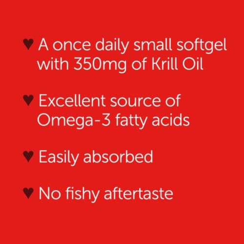 Schiff MegaRed Superior Omega-3 Krill Oil Softgels 350mg Perspective: right