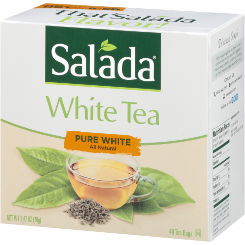 Salada All Natural Pure White Tea Bags Perspective: right