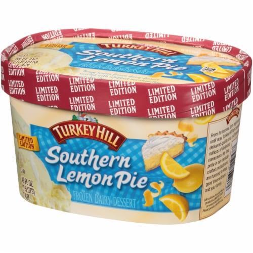 Turkey Hill® Limited Edition Premium Seasonal Southern Lemon Pie Ice Cream Perspective: right